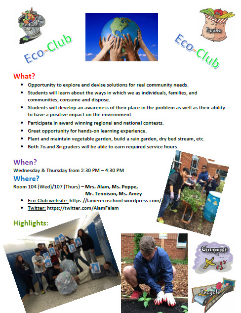 eco-club-flyer