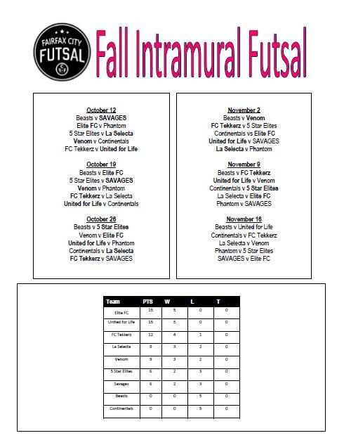 fall-intramural-schedule