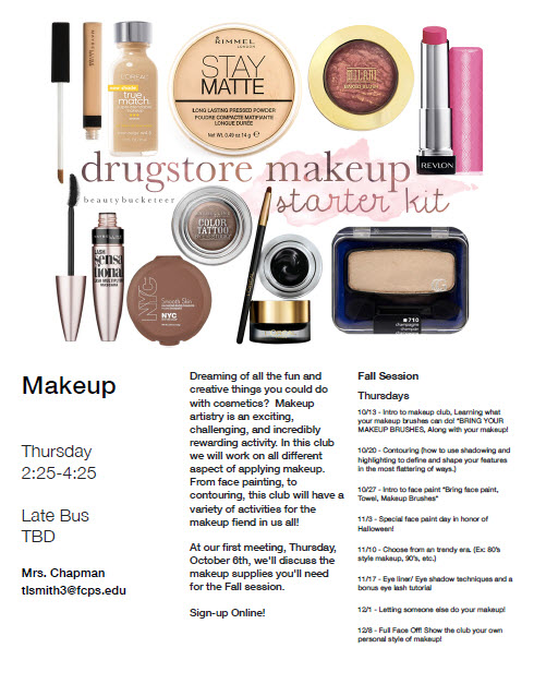 makeup-club-flyer