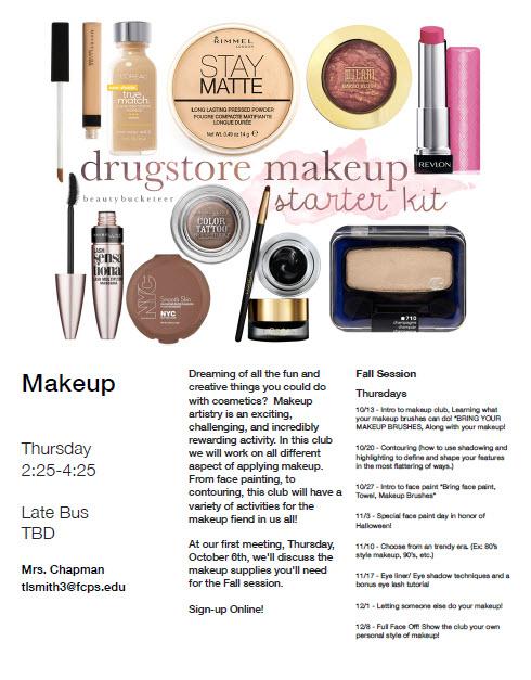 makeup-club-flyer