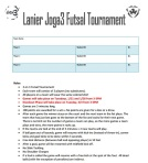 Joga3 Team Signup Form