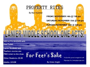 fall one act plays 2014