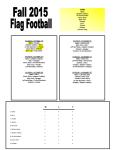 Flag Football Week1