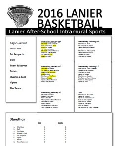 BBall Results Eagle 2