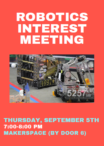 Robotics Interest Meeting